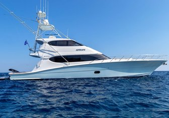 Astrape yacht charter Hatteras Motor Yacht