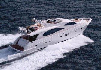 Majesty 88 yacht charter Gulf Craft Motor Yacht