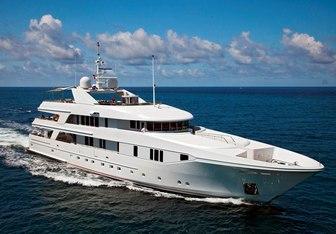 Rhino yacht charter Admiral Marine Works Motor Yacht