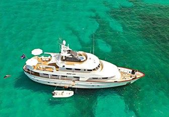 Secret Love yacht charter Amels Motor Yacht