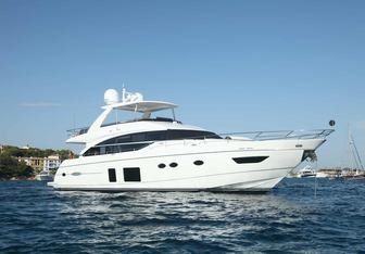 Samakanda yacht charter Princess Motor Yacht