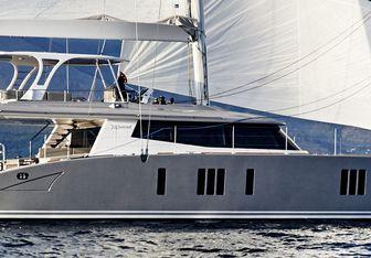 Blue Deer yacht charter Sunreef Yachts Motor/Sailer Yacht