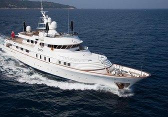Shake N Bake TBD yacht charter Campanella Motor Yacht