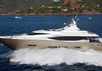 Keros Island yacht charter FX Yachts Motor Yacht