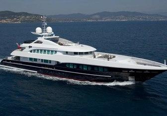 Naseem yacht charter Heesen Motor Yacht