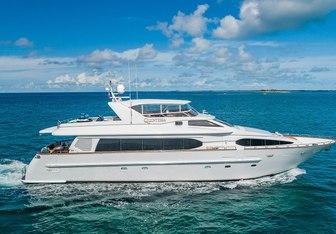 Quintessa yacht charter Destiny Yachts Motor Yacht