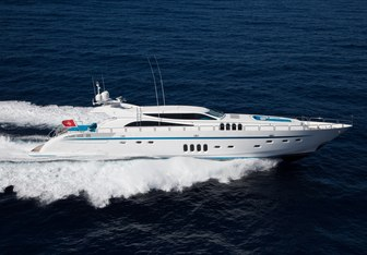 Kidi One charter yacht exterior designed by Andrea Bacigalupo