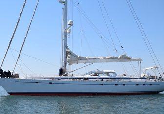 Sea Breeze yacht charter Jongert Sail Yacht
