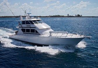 Lady Lila yacht charter Hatteras Motor Yacht
