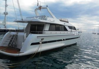ROA yacht charter Falcon Motor Yacht