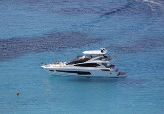 Finezza yacht charter Sunseeker Motor Yacht