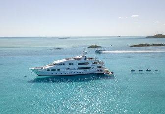 Milestone yacht charter Christensen Motor Yacht