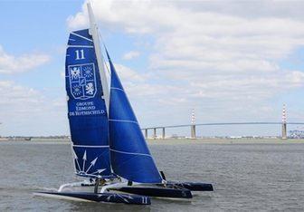 Ultim' Emotion yacht charter Chantier Naval de Larros Sail Yacht