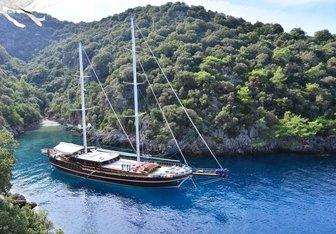 Lycian Queen Yacht Charter in Mljet