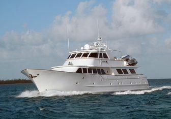 Kaleen yacht charter Broward Motor Yacht