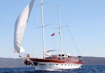 Seher 1 yacht charter Custom Motor/Sailer Yacht
