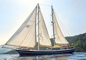 Perla Del Mar II yacht charter Custom Motor/Sailer Yacht