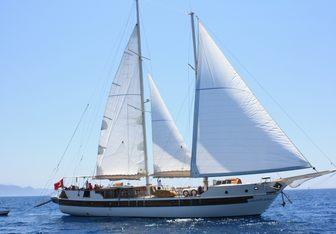 Amazon Solo yacht charter Custom Sail Yacht