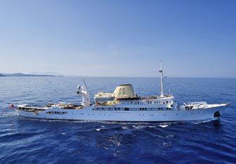Christina O Yacht Charter in Spain