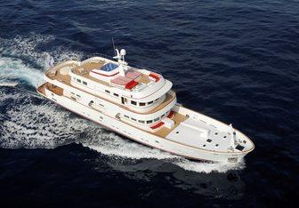 Tananai yacht charter Terranova Yachts Motor Yacht