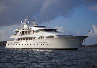 Grand Illusion yacht charter Palmer Johnson Motor Yacht