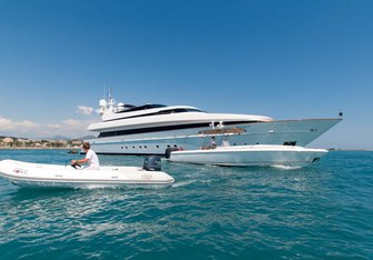 Element charter yacht exterior designed by Cantieri di Pisa