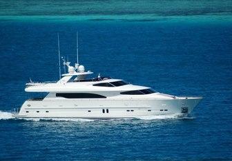Aquarius yacht charter Horizon Motor Yacht