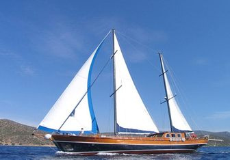 Kaptan Sevket yacht charter Bodrum Shipyard Motor/Sailer Yacht