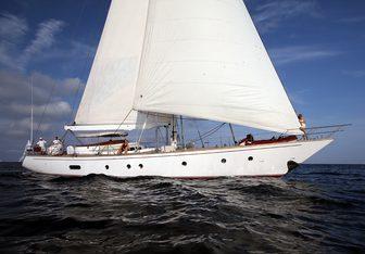 Malizia yacht charter Perini Navi Sail Yacht