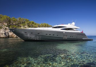 Tiger Lily of London yacht charter Pershing Motor Yacht