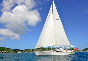 Columbo Breeze yacht charter Oyster Yachts Sail Yacht