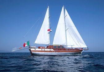 Silver Star yacht charter Emre Oguz, Icmeler Sail Yacht