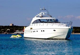 Manzana yacht charter Princess Motor Yacht