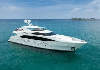 Finish Line yacht charter Trinity Yachts Motor Yacht