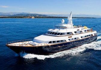 Lady Rose yacht charter Hitachi Zosen Motor Yacht