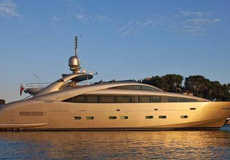 Soiree charter yacht exterior designed by Andrea Vallicelli