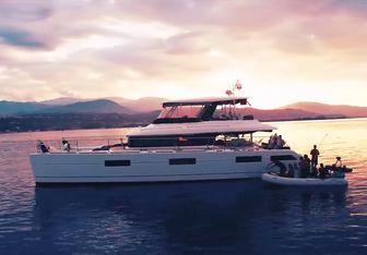 Cute Little Cat yacht charter Lagoon Motor Yacht