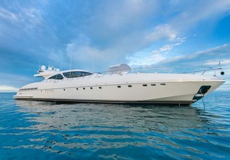 Incognito charter yacht exterior designed by Stefano Righini & Andrea Bacigalupo