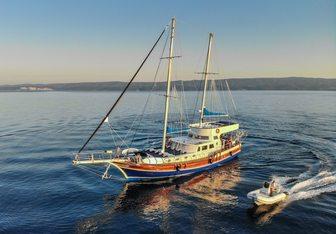 Saint Luca yacht charter Fethiye Shipyard Sail Yacht