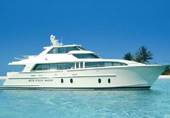 Bendis charter yacht exterior designed by Cheoy Lee