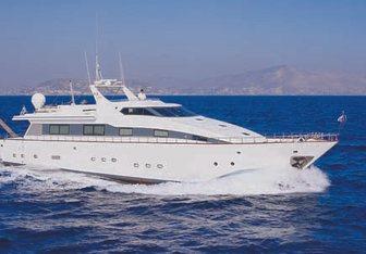 Lady K.K. charter yacht exterior designed by Alpha Marine