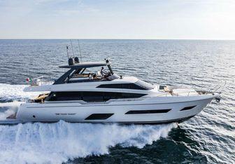 Black Star III yacht charter Ferretti Yachts Motor Yacht