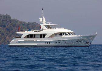 Maximus Star yacht charter Moonen Motor Yacht