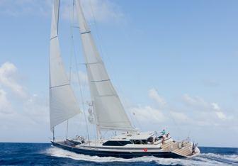 SeaQuell yacht charter Alloy Yachts Sail Yacht