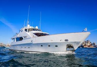 Galaxy I yacht charter Precision Marine Motor Yacht