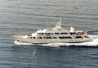 White Knight charter yacht exterior designed by Astillero Jorge R Chediek