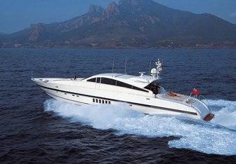 Quincy C yacht charter Leopard Motor Yacht