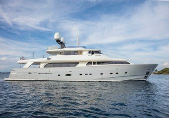 Ena yacht charter Custom Line Motor Yacht