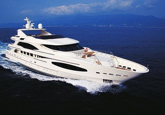 Princess Iolanthe Yacht Charter in Indian Ocean