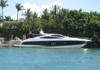 Three Dog Night yacht charter Sunseeker Motor Yacht